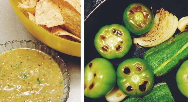 make your own salsa verde